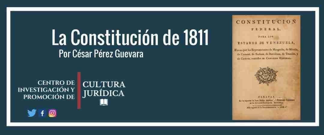Vídeo: La Constitución Federal de Venezuela de 1811 y la aplicación de sus principios