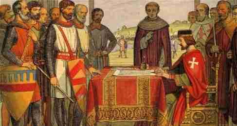 La idea del Debido Proceso en la Carta Magna de Juan sin tierra
