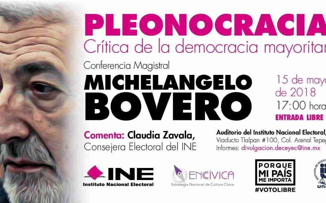 Reflexiones sobre elecciones, democracia, pleonocracia y hezocracia.