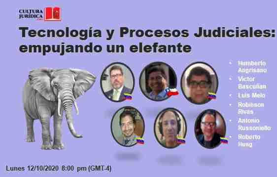 Tecnología y Procesos Legales: empujando un elefante.