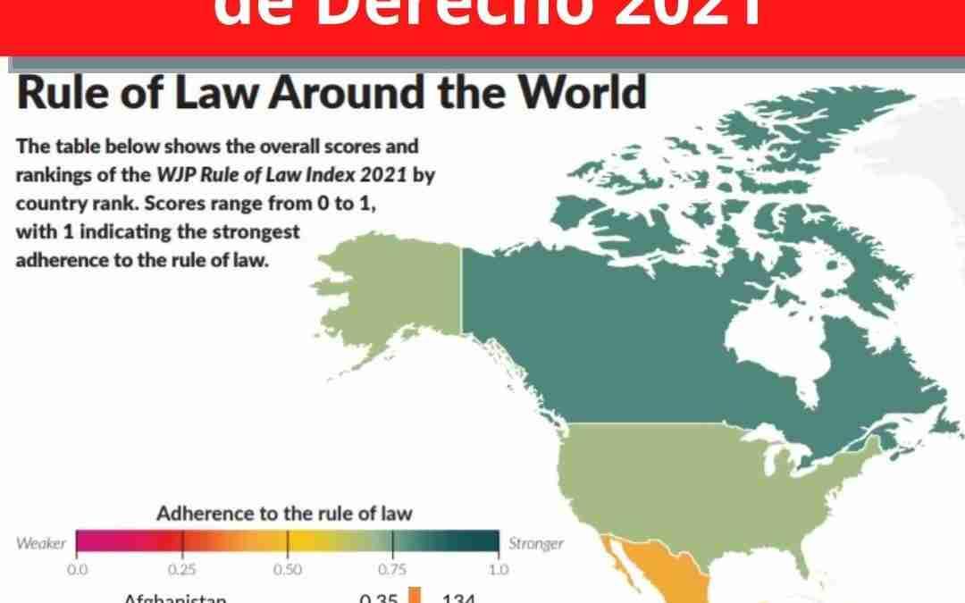 Venezuela repite como el peor país en materia de estado de derecho.